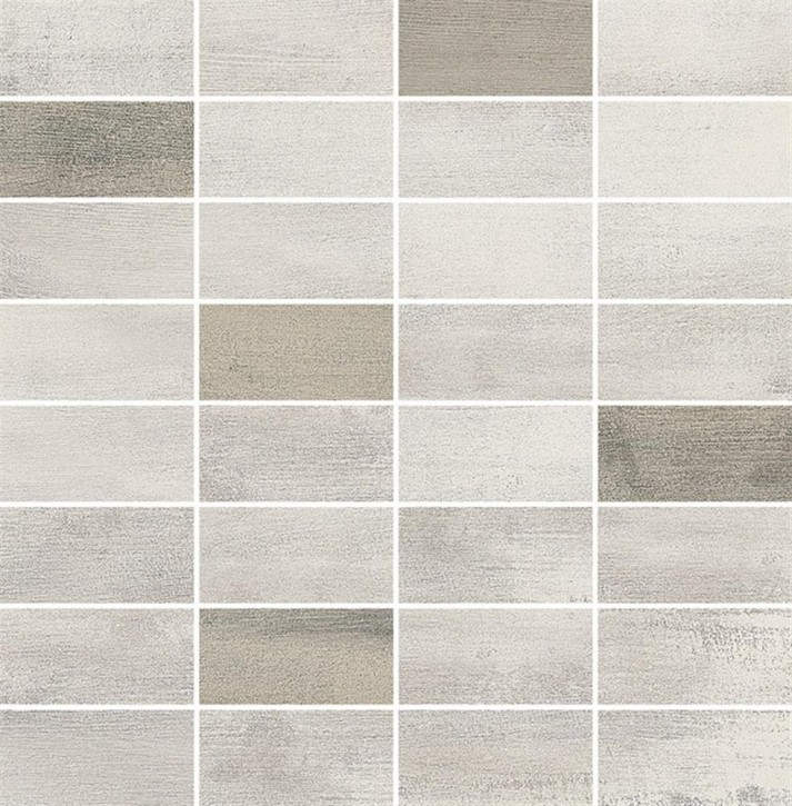 Floorwood Mosaik 30x30cm white beige mix R10 Abr.4