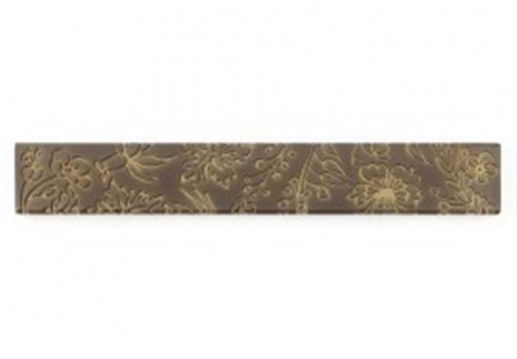 Flower Bordüre 3,5x24,8cm braun