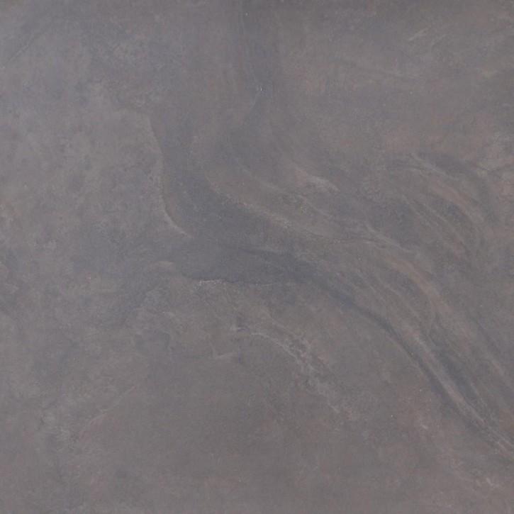 Geostone Boden 60x60cm schwarz glzd. rekt. Abr.4
