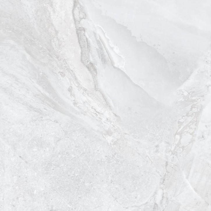 Geostone Boden 60x60cm weiß glzd. rekt. Abr.4