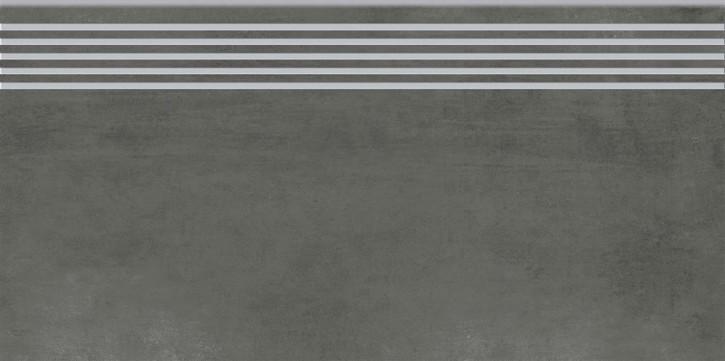 Grava Stufe 30x60cm grafit matt R10B Abr.4