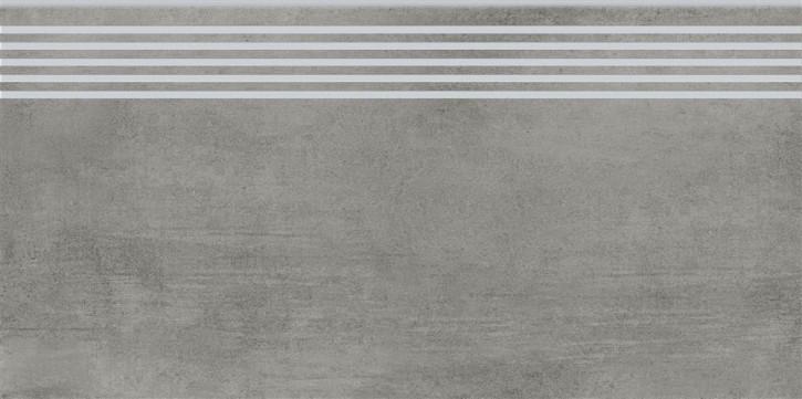 Grava Stufe 30x60cm grau matt R10B Abr.4