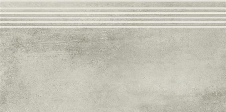Grava Stufe 30x60cm hellgrau matt R10B Abr.5