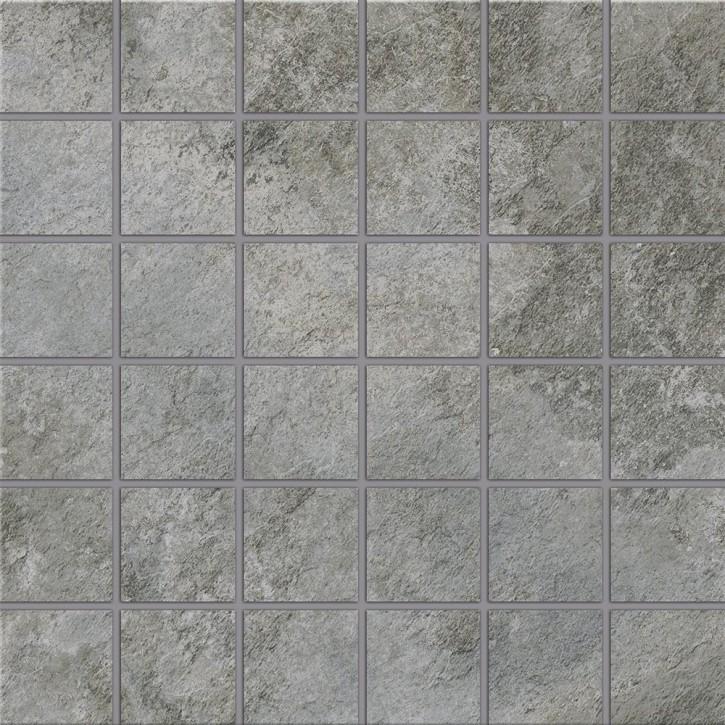 Himalaya Mosaik 30x30cm grau R9 Abr.4