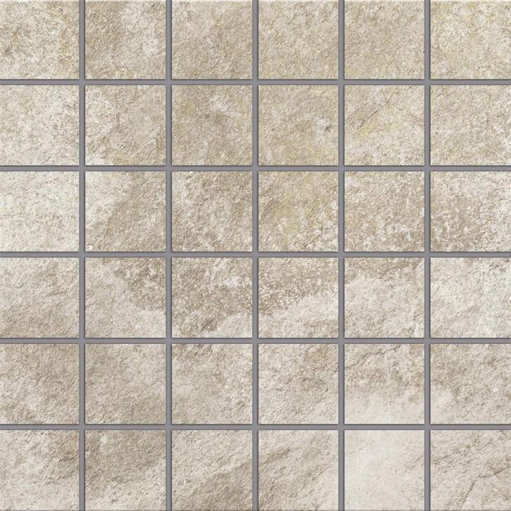 Himalaya Mosaik (5/5) 30x30cm creme R10