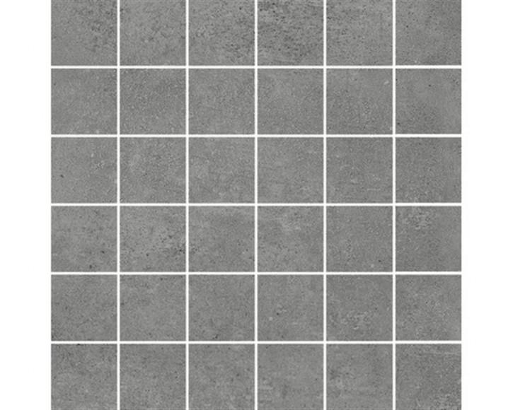 Hometec Mosaik (5/5) 30x30cm graphit lap. glas. rekt. Abr.4