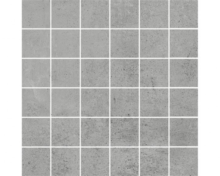 Hometec Mosaik (5/5) 30x30cm grau lap. glas. rekt. Abr.4