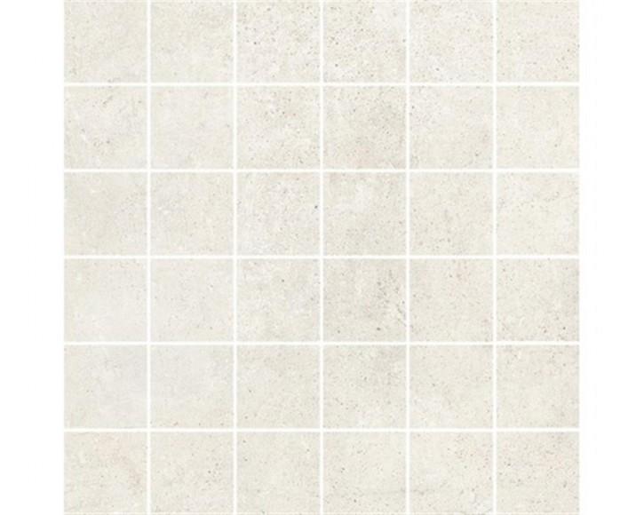Hometec Mosaik (5/5) 30x30cm ivory lap. glas. rekt. Abr.4