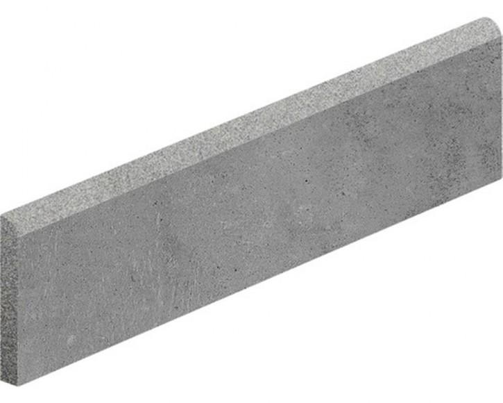 Hometec Sockel 7,5x60cm graphit lap. glas. rekt. Abr.4
