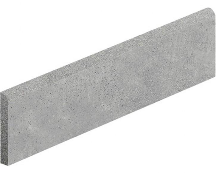 Hometec Sockel 7,5x60cm grau lap. glas. rekt. Abr.4