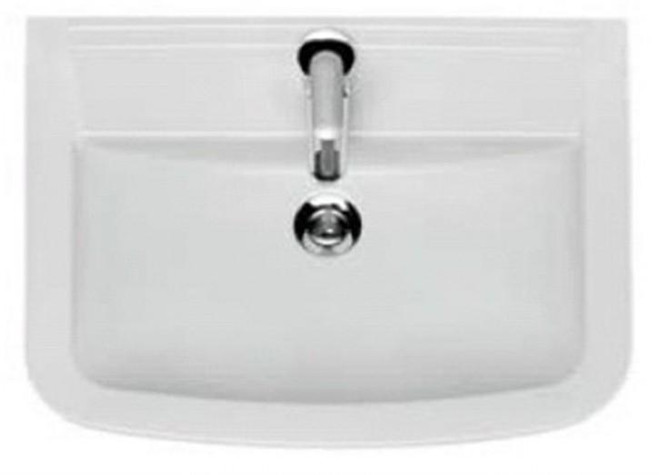 Keramik Handwaschbecken Pure 55 cm