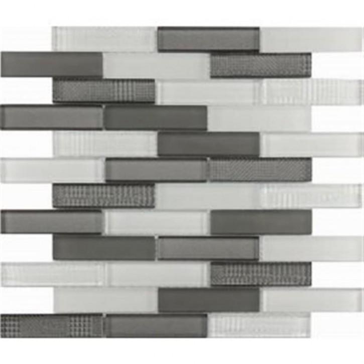 Kermos Mosaik 30x30cm (2,4/9,8) white taupe mix