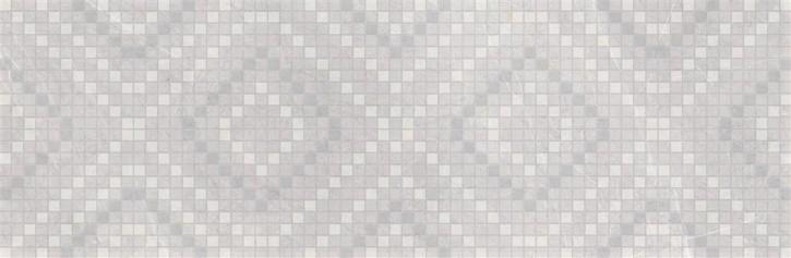 Light Marquina Dekor 24x74cm grau