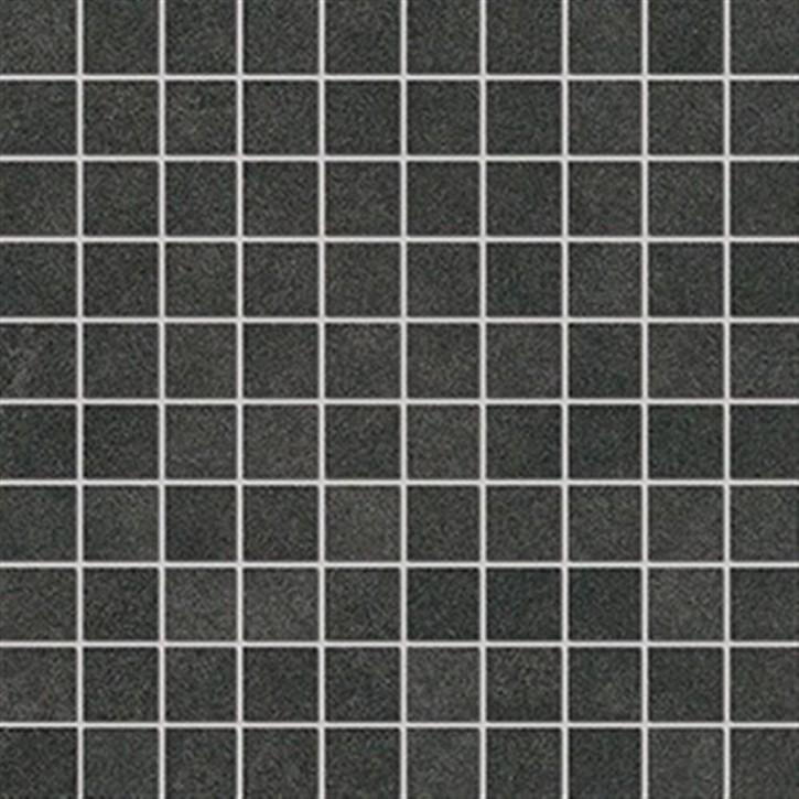 Lilu Mosaik(3/3) 30x30cm anthrazit ungl. R10B rekt.