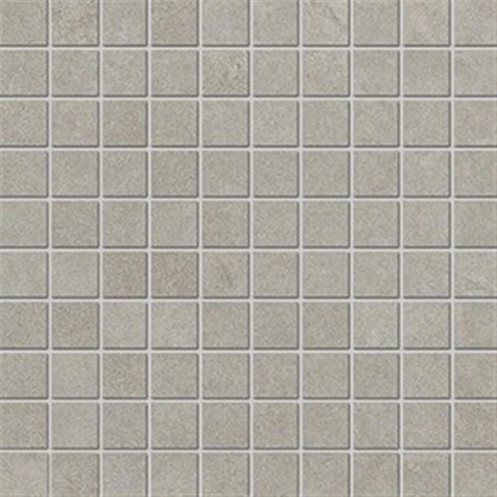 Lilu Mosaik(3/3) 30x30cm greige ungl. R10B rekt.