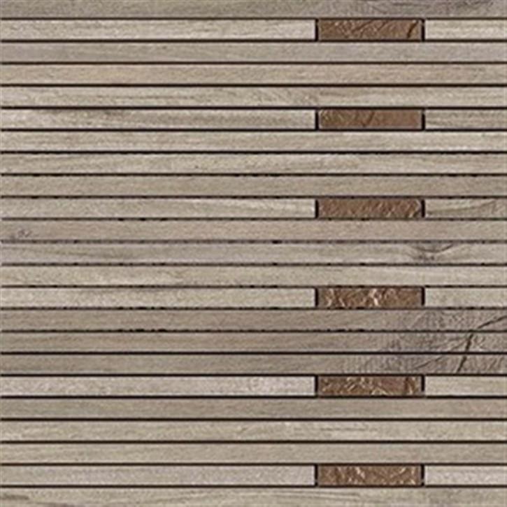 Linus Mosaik Holzoptik 30x30