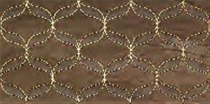 Lux Collection Ethereal Dekor gold geom. 30x60cm soft brown