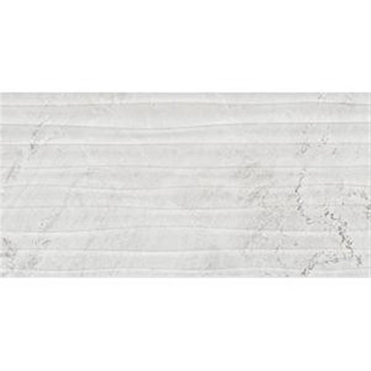 Lux Collection Versus Dekor Wave 30x60cm white glz.
