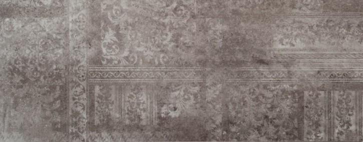 Madrid Dekor 30x75cm dunkelgrau glzd. rekt. Abr.4