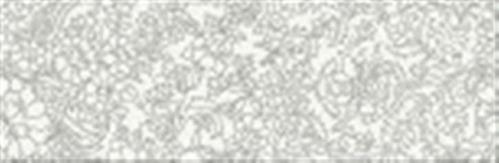 Magic Dekor 25x75cm weiß flower