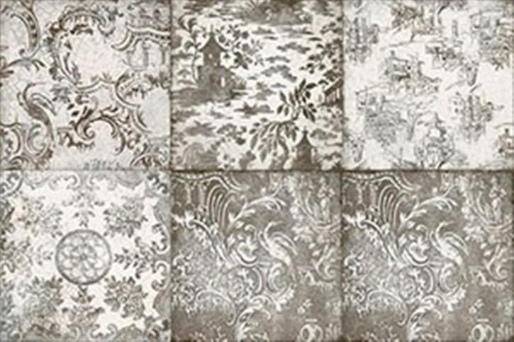 Maiolica Dekor 20x20cm grigio