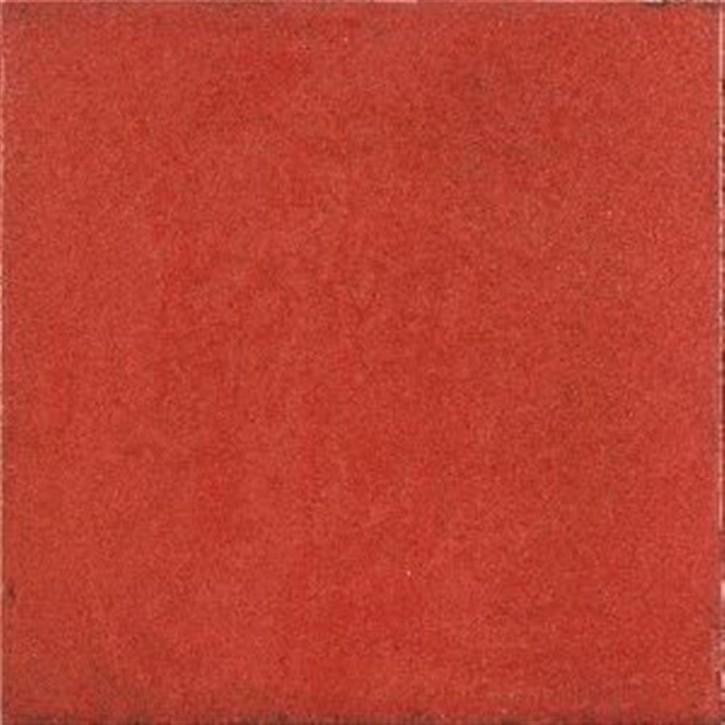 Maiolica Wand 20x20cm rosso