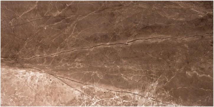 Marmol Boden 45x90cm sepia glzd. rekt. Abr.4