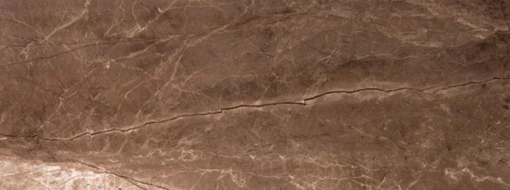 Marmol Wand 30x80cm sepia glzd. rekt.