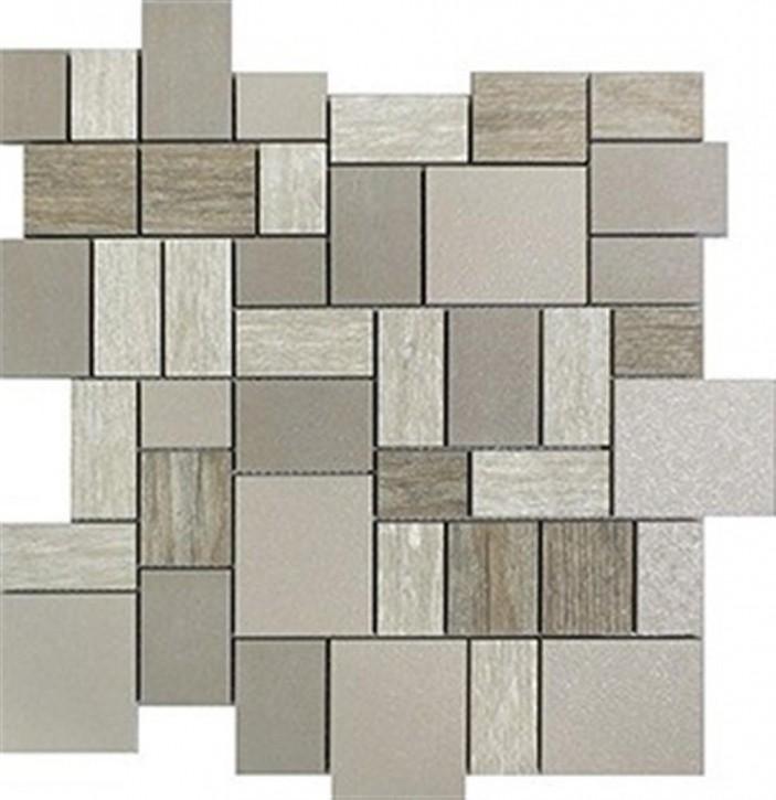 Mauerblume Mosaik 30x30cm dark-sand