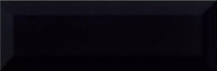 Metro Style Wand 10x30cm schwarz glzd.