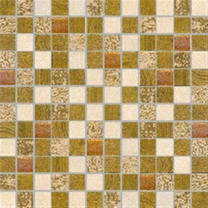Moonlight Mosaik 30x30cm beige matt-glzd.