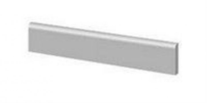 Nagold Sockel 7,5x120cm silbergrau