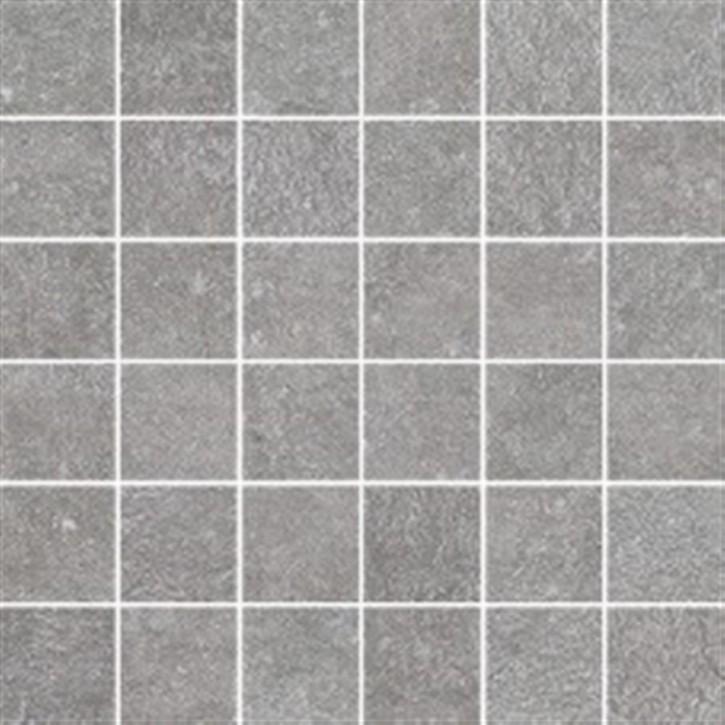 Northfield Mosaik (5/5) 30x30cm grau matt R10B