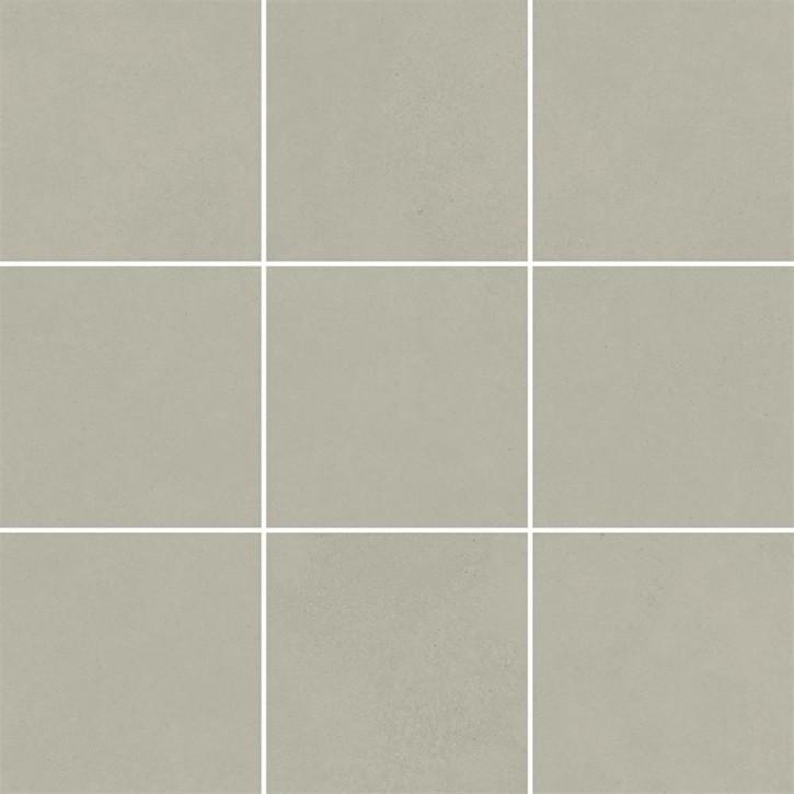 Optimum Mosaik (10/10) 30x30cm hellgrau matt R10B