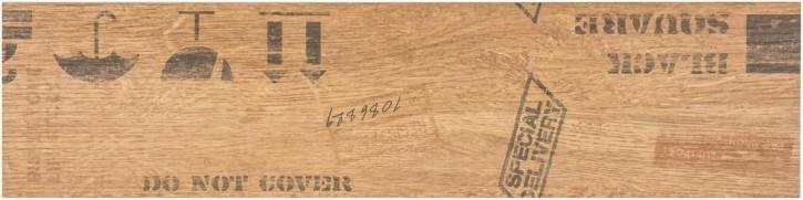 Oregon Dekor 15x60cm beige matt rekt. Abr.4