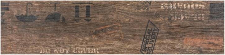 Oregon Dekor 15x60cm braun matt rekt. Abr.4