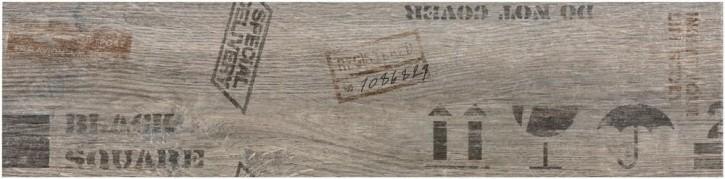 Oregon Dekor 15x60cm grau matt rekt. Abr.4