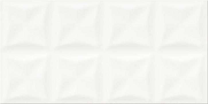 Origami Dune Wand 30x60cm weiß glzd. strukt.