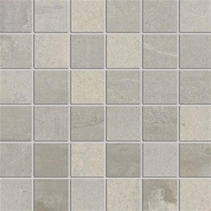 Original Mosaik(5/5) 30x30cm grau ungl. R10B