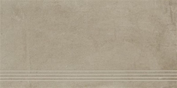 Original Treppenfliese 37,5x75cm beige ungl. R10 rekt.