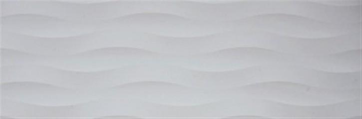 Oxy Wand 30x90cm lichtgrau  gewellt rekt.