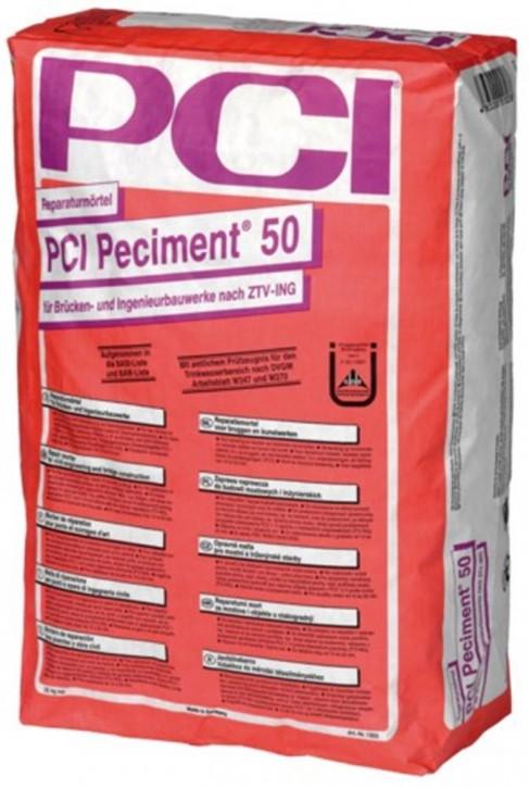 PCI Peciment 50 25,00 kg Sack Farbe grau
