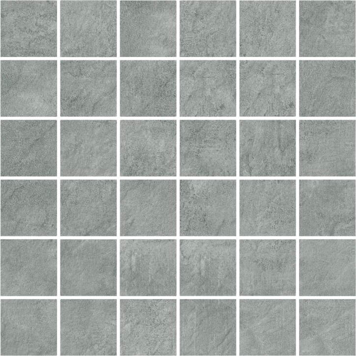 Pietra Mosaik 30x30cm grey R10 Abr.4