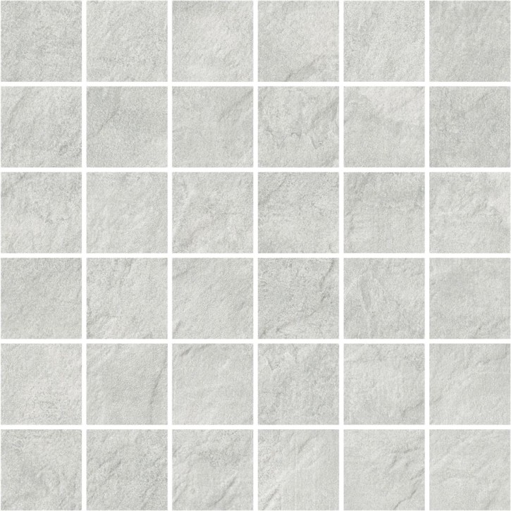 Pietra Mosaik 30x30cm light grey R10 Abr.5