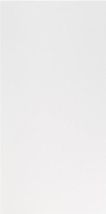 Polaris Wand 30x60x0,9cm weiß matt rekt.