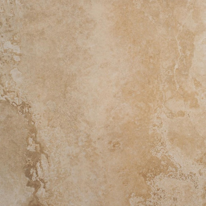 Premium Travertin Boden 80x80cm beige glzd. rekt. Abr.4