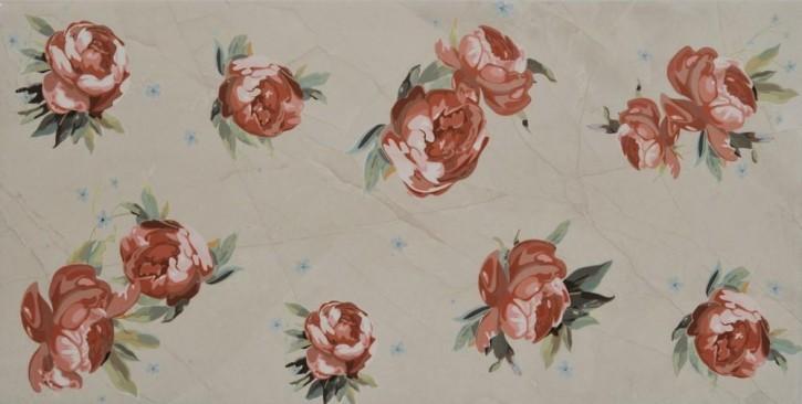 Pulpis Dekor 30x60cm rose ecru glzd.