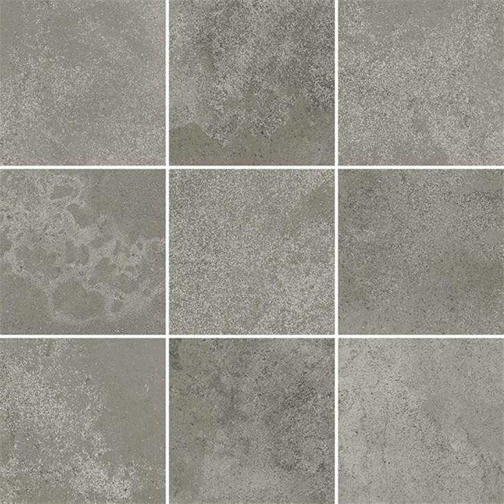 Quenos Mosaik 30x30cm grau matt R10B Abr.4