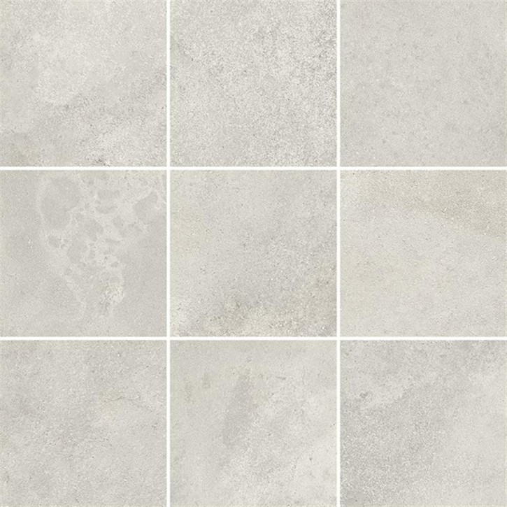 Quenos Mosaik 30x30cm weiß matt R10B Abr.5