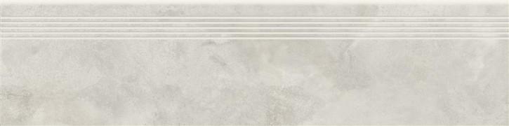 Quenos Stufe 30x120cm weiß matt R10B Abr.5